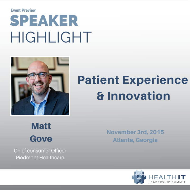 Patient Experience and Innovation with Matt Gove