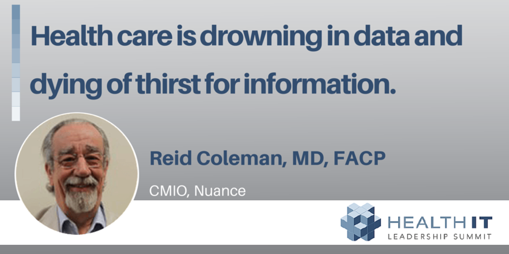 Healthcare is Drowning in Data and Dying of Thirst for Information