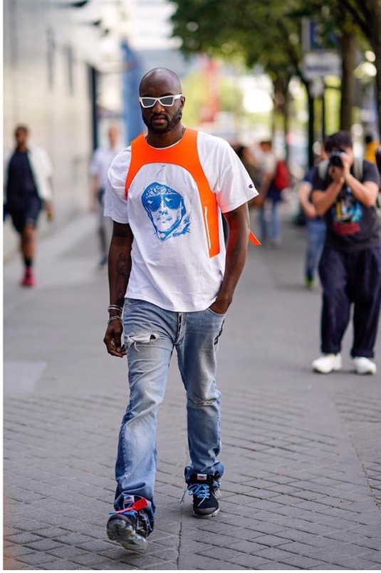 Virgil Abloh (via Celebrity Vice)