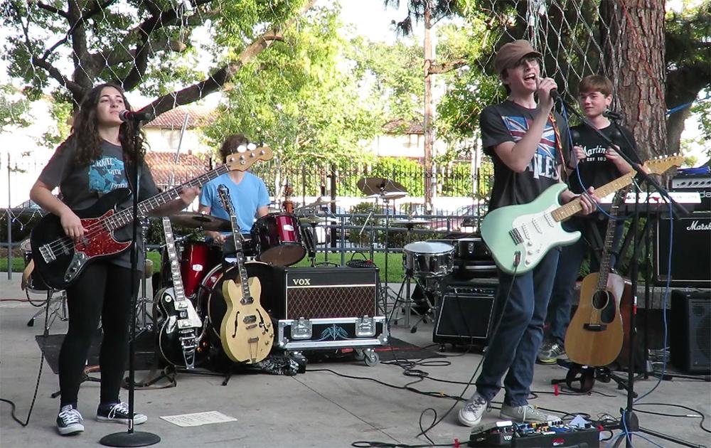 Jeremy Benson, Elida Kocharian, Daniel  Fleischner  & Dylan Mulcahy - Flintridge Prep Fest 4/11/15