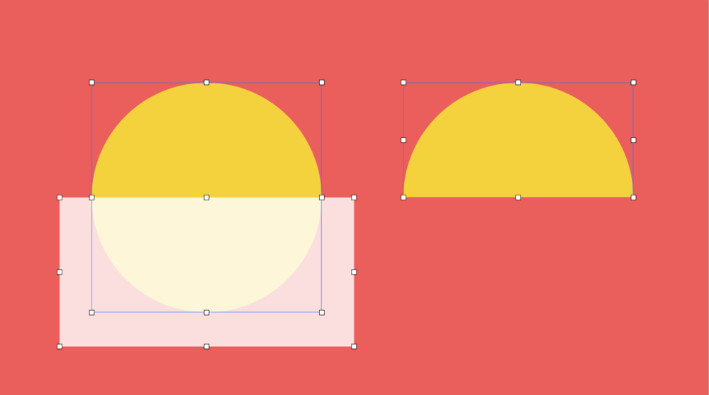 There's also the ability to subtract, unite, intersect, and exclude shapes. This makes custom shapes much easier so you don't have to rely on masks. You can find these options hidden in the Format > Shapes and Lines menu.