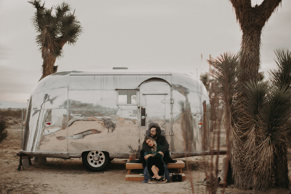 Quigley + Alex - Joshua Tree, CA