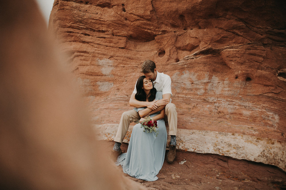 Jasmin & Drew - Morrison, COWhen Drew and Jasmin asked me to shoot their engagements in the Red Rocks I was so over the moon. It was my first time shooting here and I couldn't put my computer down when I got home. The colors were so beautiful I just couldn't stop editing.