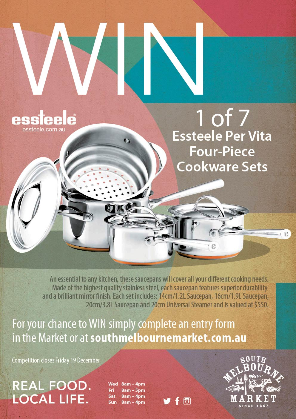 WIN Essteele Cookware Sets