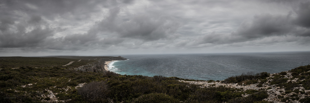 A stormy evening at Remarkable Rocks