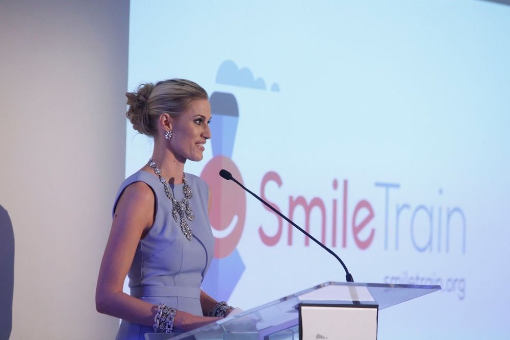 kristen-speaking-smile-train