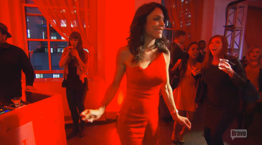 bethenny-red-party