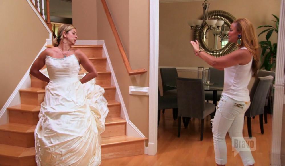 robyn-dixon-gizelle-bryant-wedding-dress
