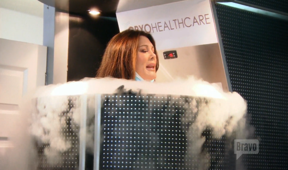 lisa-vanderpump-cryotherapy
