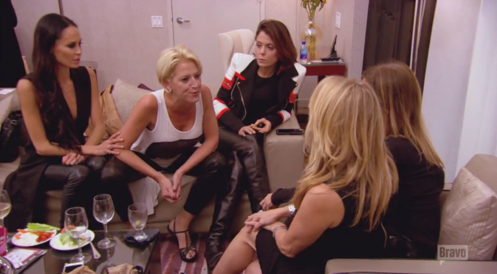 rhony-bra-party
