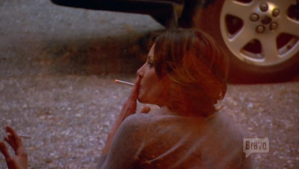 luann-de-lesseps-smoking