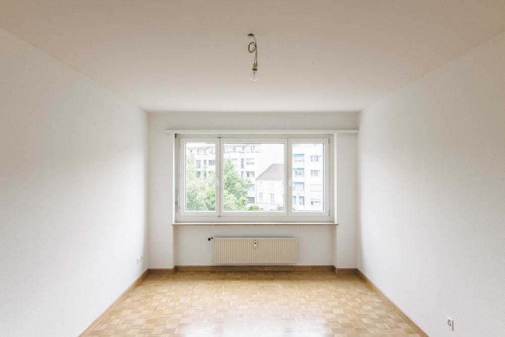 Innensanierung Wohnzimmer Basel, Consilium Architektur und Baumanagement