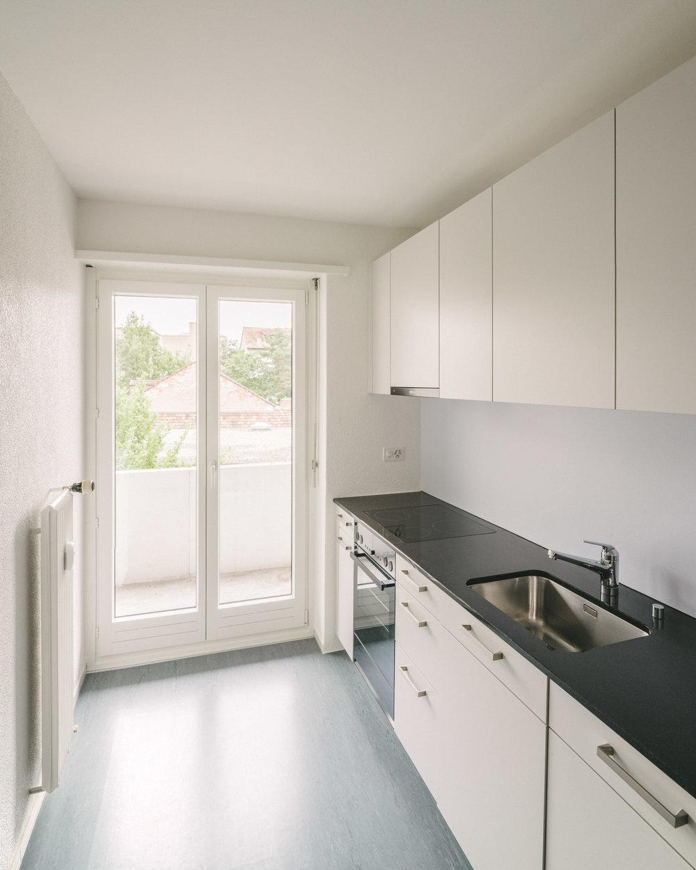 Innensanierung Küche Basel, Consilium Architektur und Baumanagement