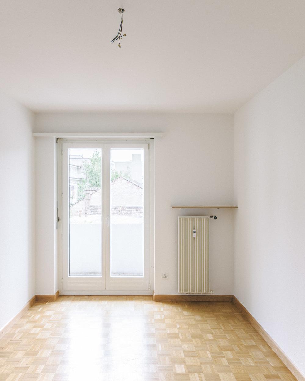 Innensanierung Basel Zimmer, Consilium Architektur und Baumanagement
