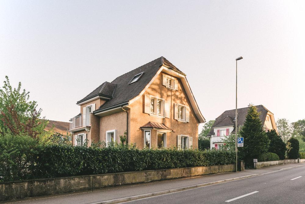 Umbau Arlesheim Aussenansicht, Consilium Architektur und Baumanagement