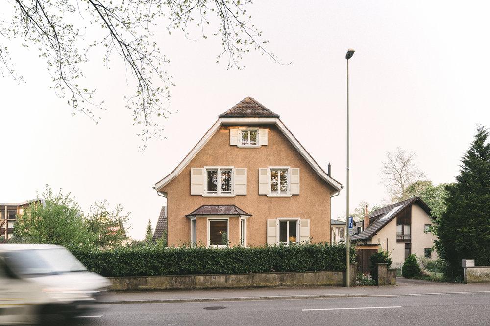 Umbau Arlesheim Strassenansicht, Consilium Architektur und Baumanagement