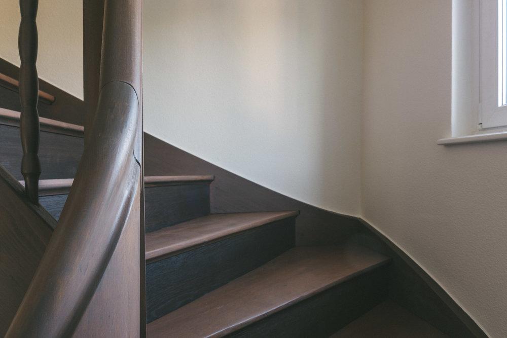 Umbau Arlesheim Treppenhaus, Consilium Architektur und Baumanagement