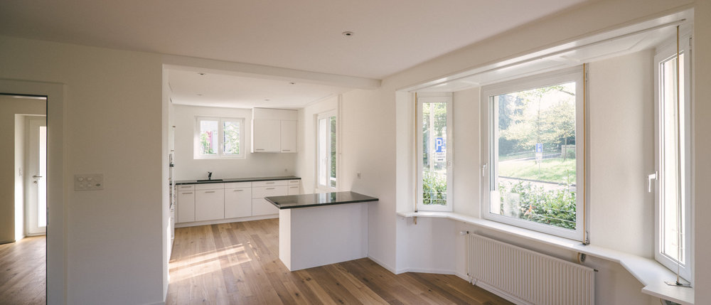 Umbau Arlesheim Offene Küche, Consilium Architektur und Baumanagement