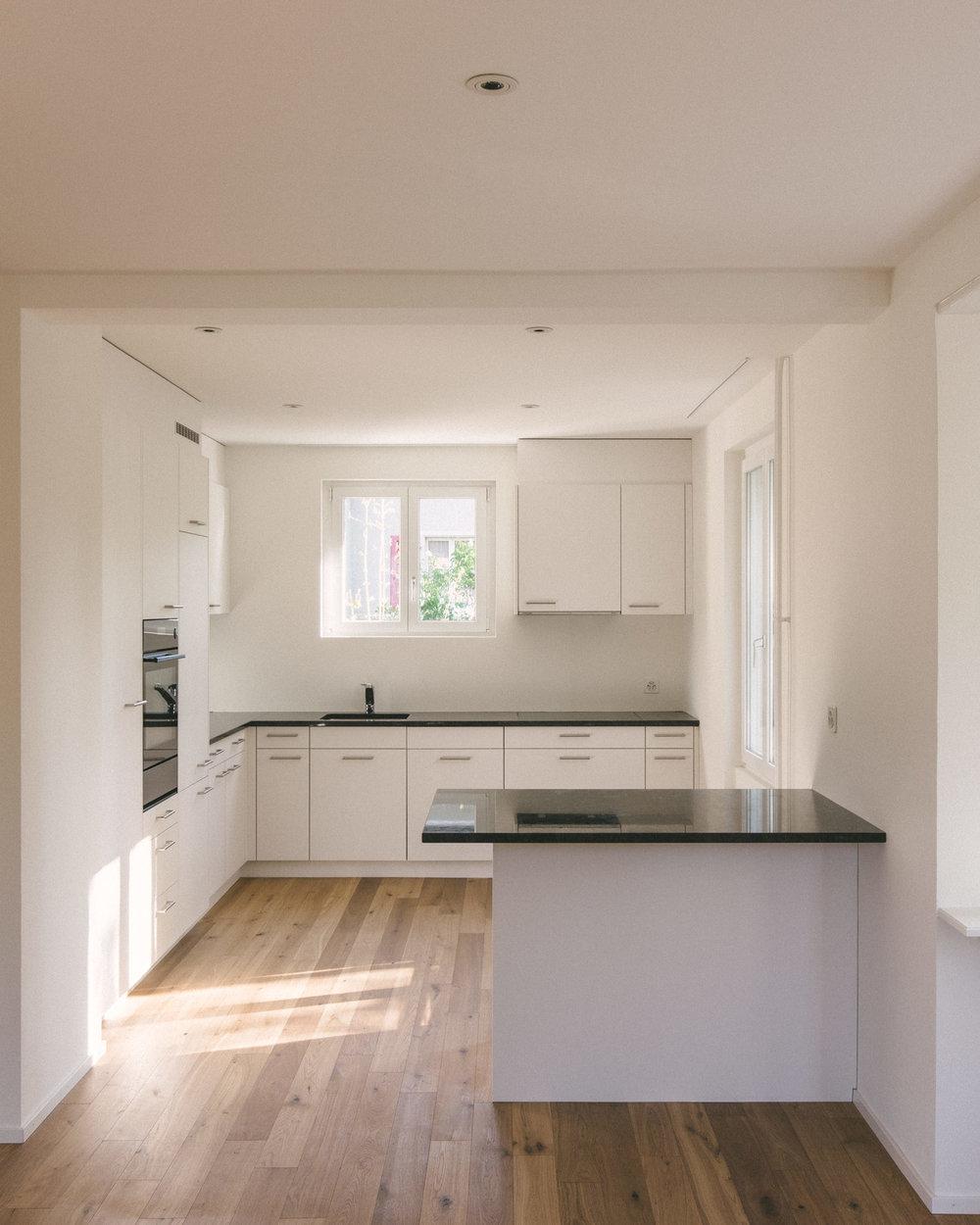 Umbau Arlesheim Küche, Consilium Architektur und Baumanagement