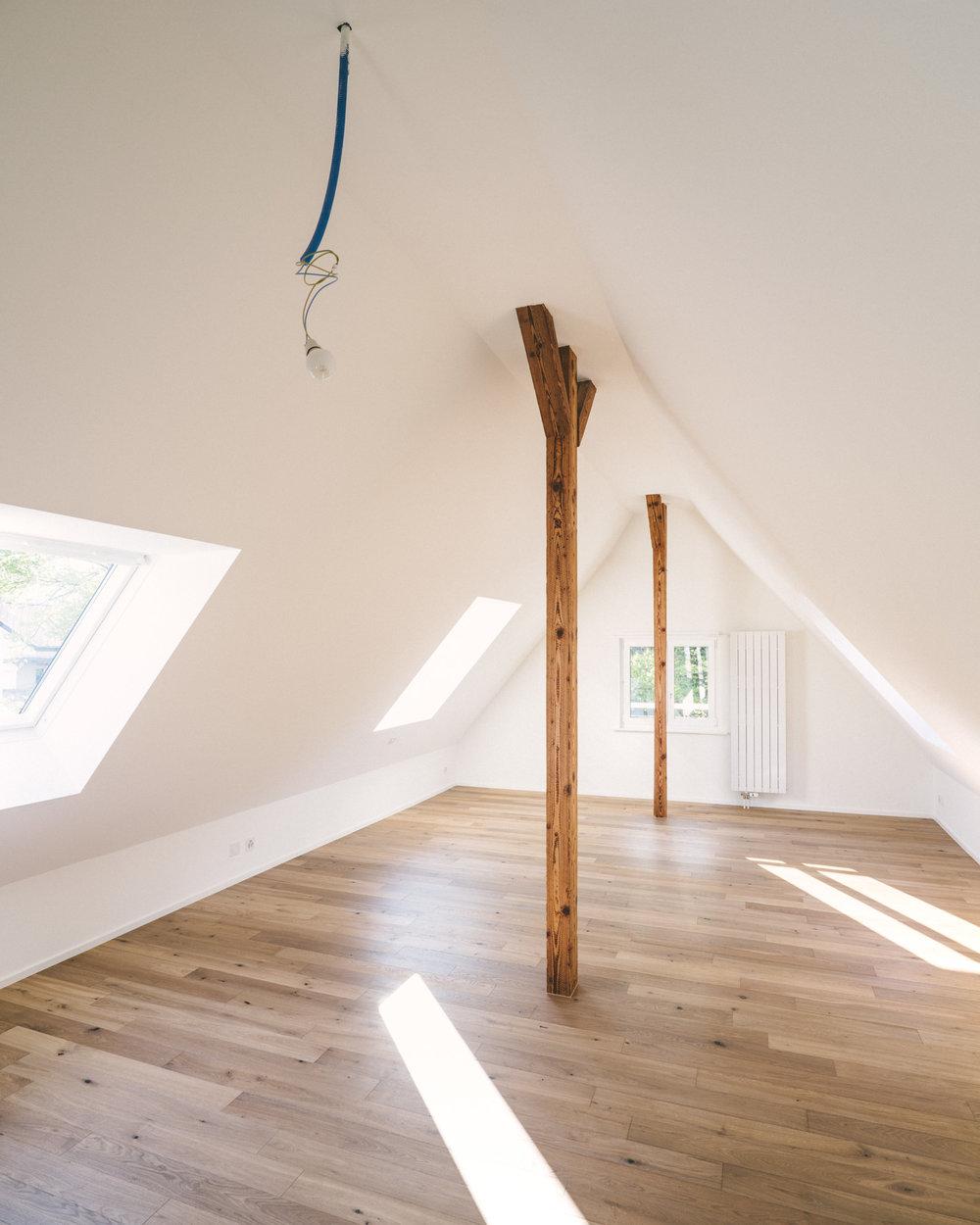 Umbau Arlesheim Dachausbau, Consilium Architektur und Baumanagement