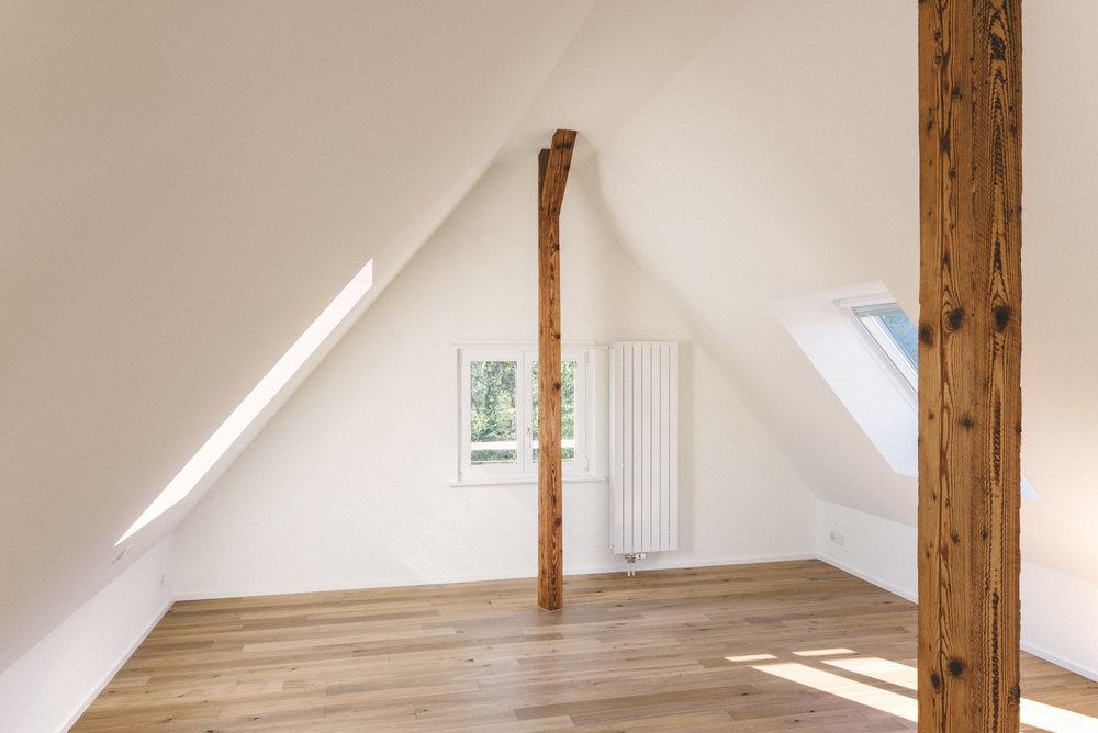 Umbau Arlesheim Dachgeschoss, Consilium Architektur und Baumanagement