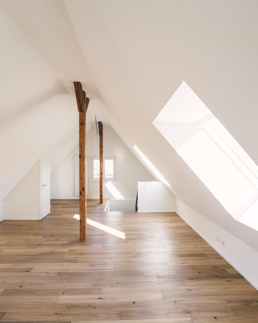 Umbau Arlesheim Wohnestrich, Consilium Architektur und Baumanagement