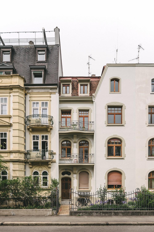 Aussensanierung MFH Basel, Consilium Architektur und Baumanagement