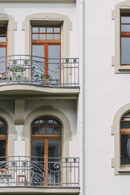 Aussensanierung MFH Basel Balkone, Consilium Architektur und Baumanagement