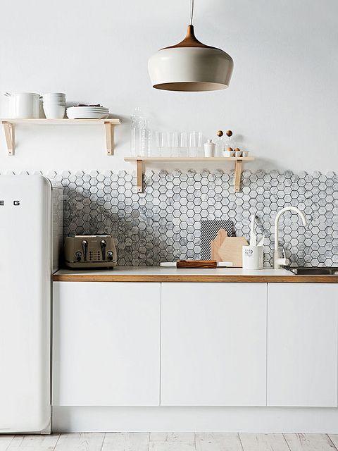 Hexagon-tiles-mosaic