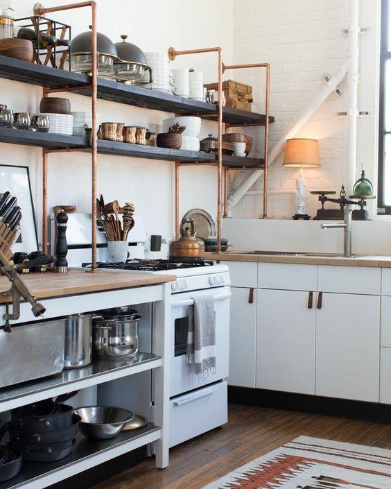 industrial-kitchen-shelving