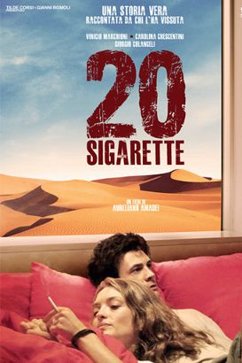 "20 CIGARETTES Is a 2010 drama film directed by Aureliano Amadei. Aureliano, 28 year old anarchist and anti-war activist gets an offer in Iraq as assistant director on a film about the Italian military ""peace mission"". Witness and victim of the attack on the Italian army barracks in Nassiriya on the 12th of November 2003, he becomes an accidental hero."