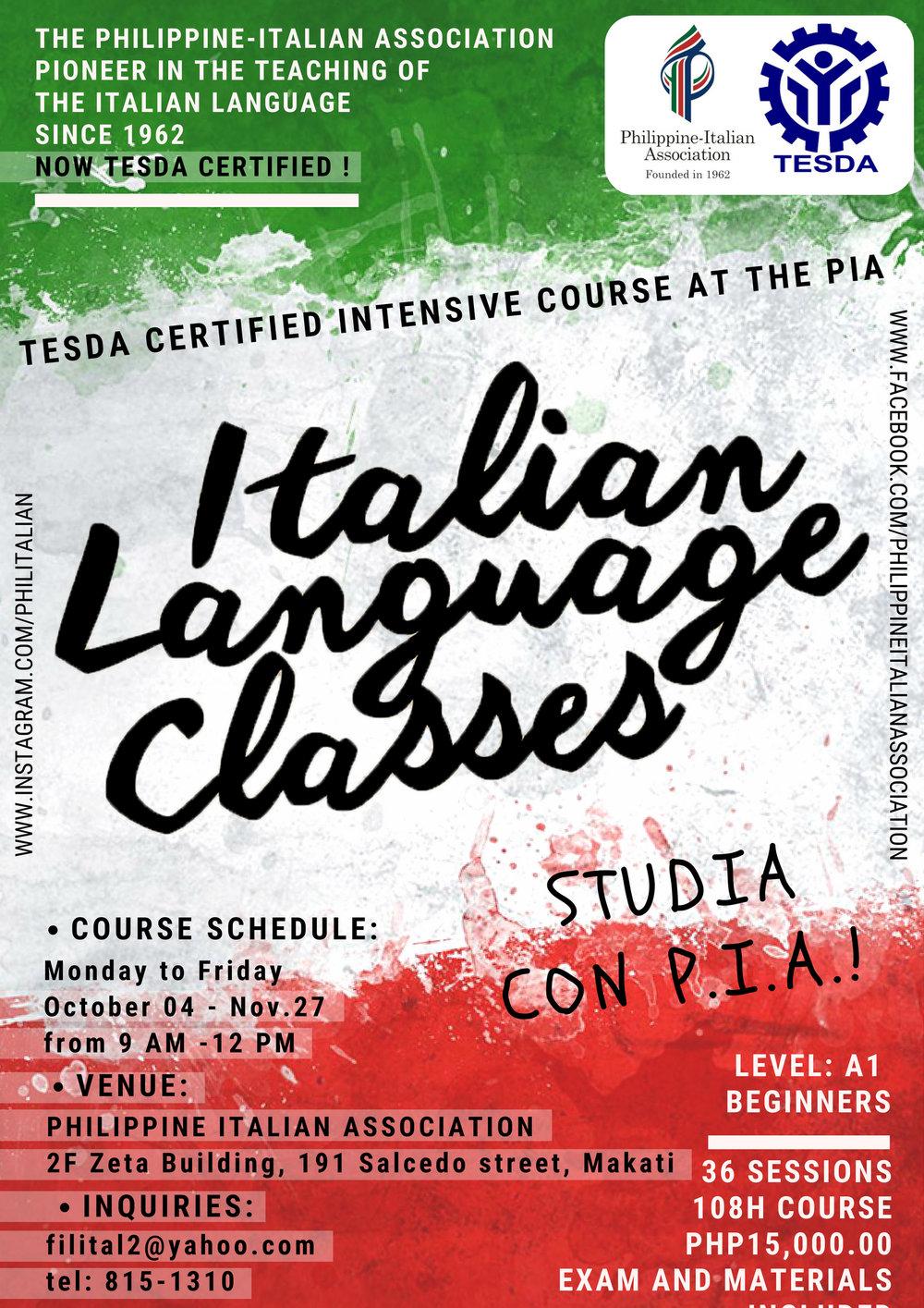 Italian language-Tesda A1-October2018.jpg