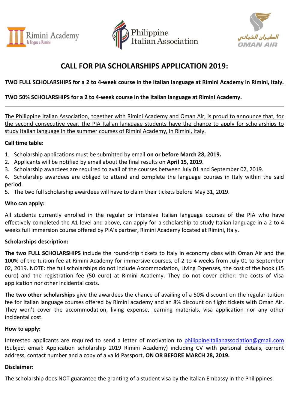 Call for scholarships 2019.jpg