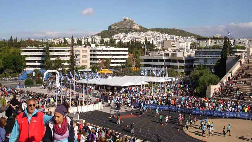 run athens marathon