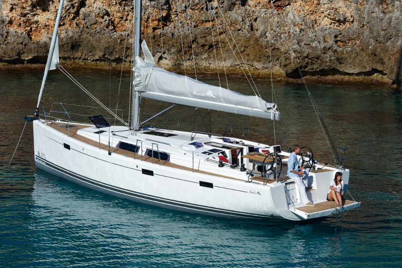 hanse 415 sailing trip greece
