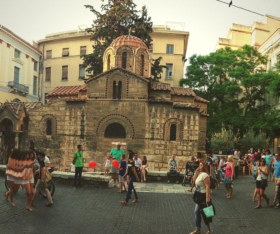 Ermou Street Kapnikarea