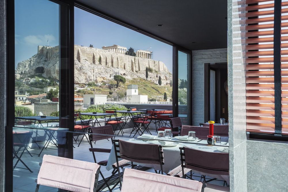 Views from AthensWas Hotel rooftop bar {pic courtesy AthensWas hotel]