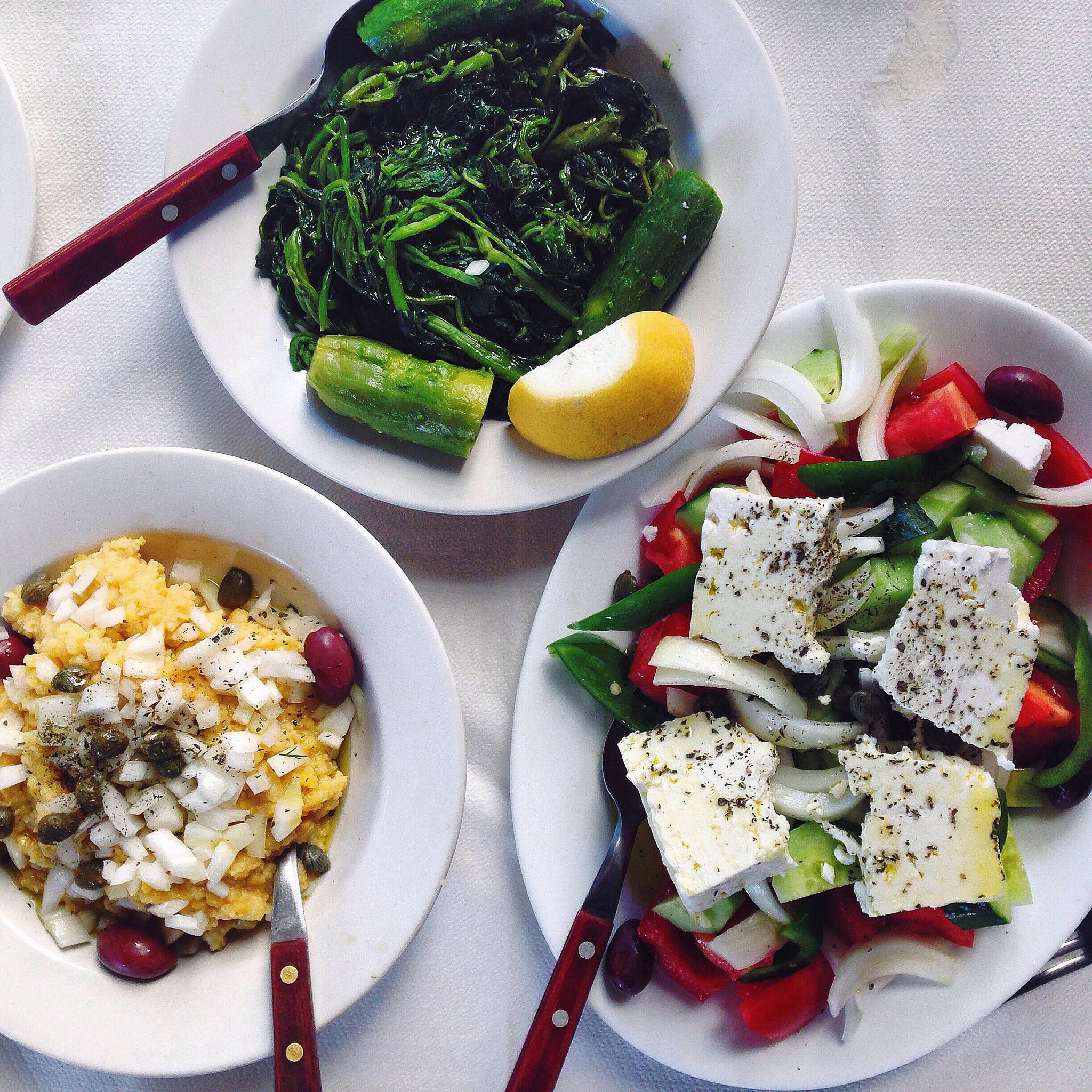 Sea diet of the Greek goddess