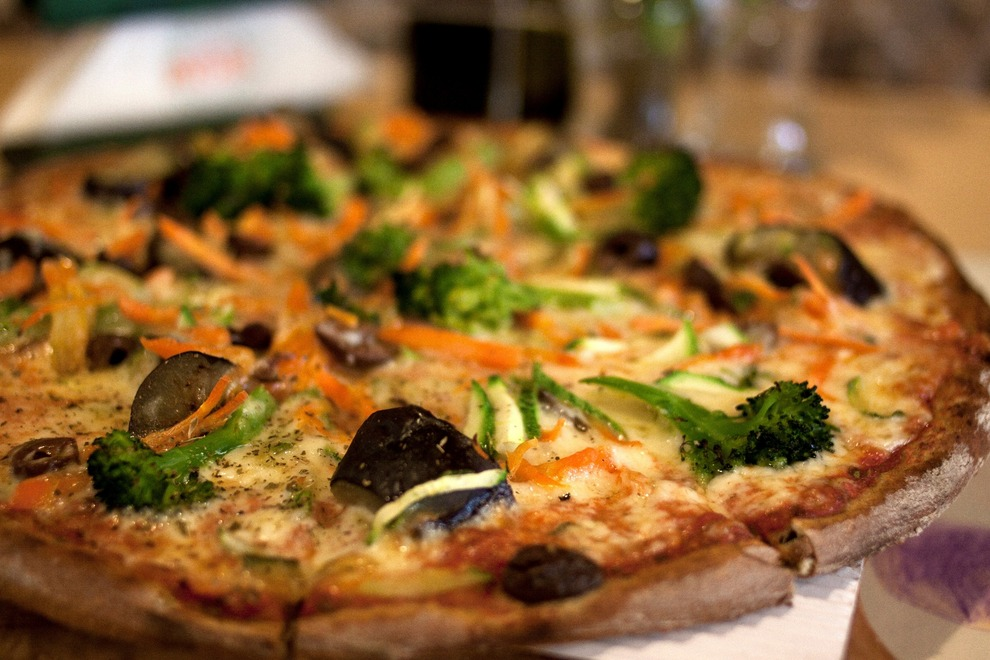 Mystic Pizza in Exarheia and Kalimarmaro for delicious pizza in healthy versions! [pic by Mystic Pizza]