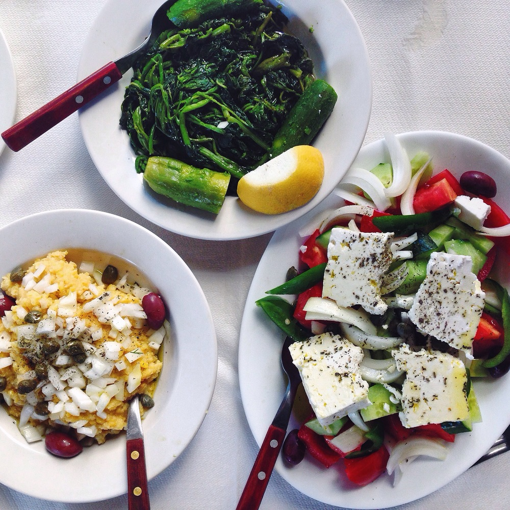 Greek Food Classics (Picture by Katherine Poseidon)