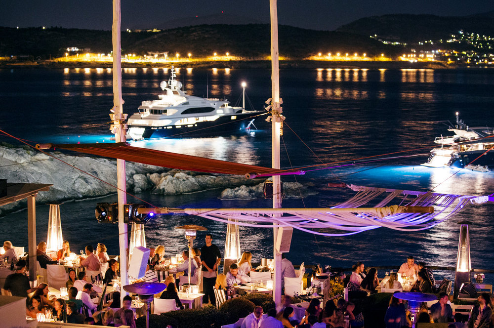 "The ""Island' summer club in the Athens Riviera (Picture courtesy of Island Club Restaurant)"