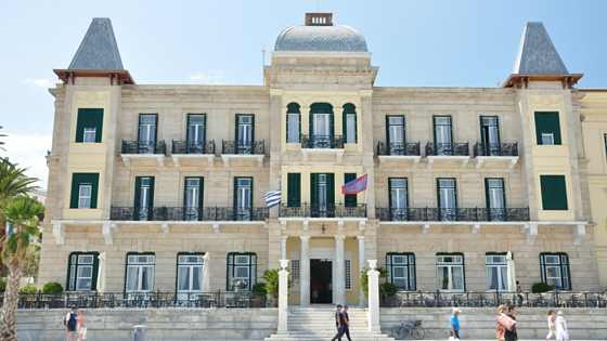 Poseidonion Grand Hotel, a landmark of Spetses island (Picture by  Konstantinos Payavlas )