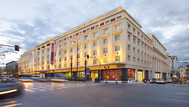Premium store Attica is located just off Syntagma square (Picture via  Website )
