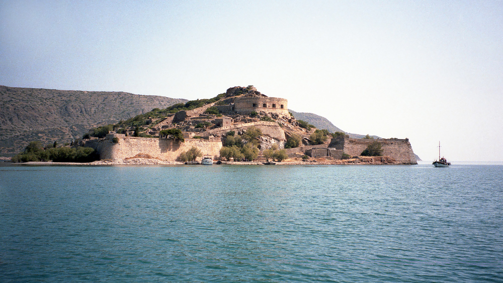 Spinalonga island just off the coast of Elounda (Picture by Robert Linsdell)