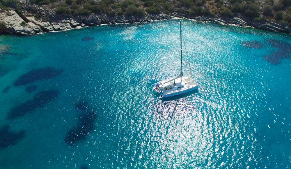 Day adventures in the bays of the island (Picture courtesy of Adventure Crete)