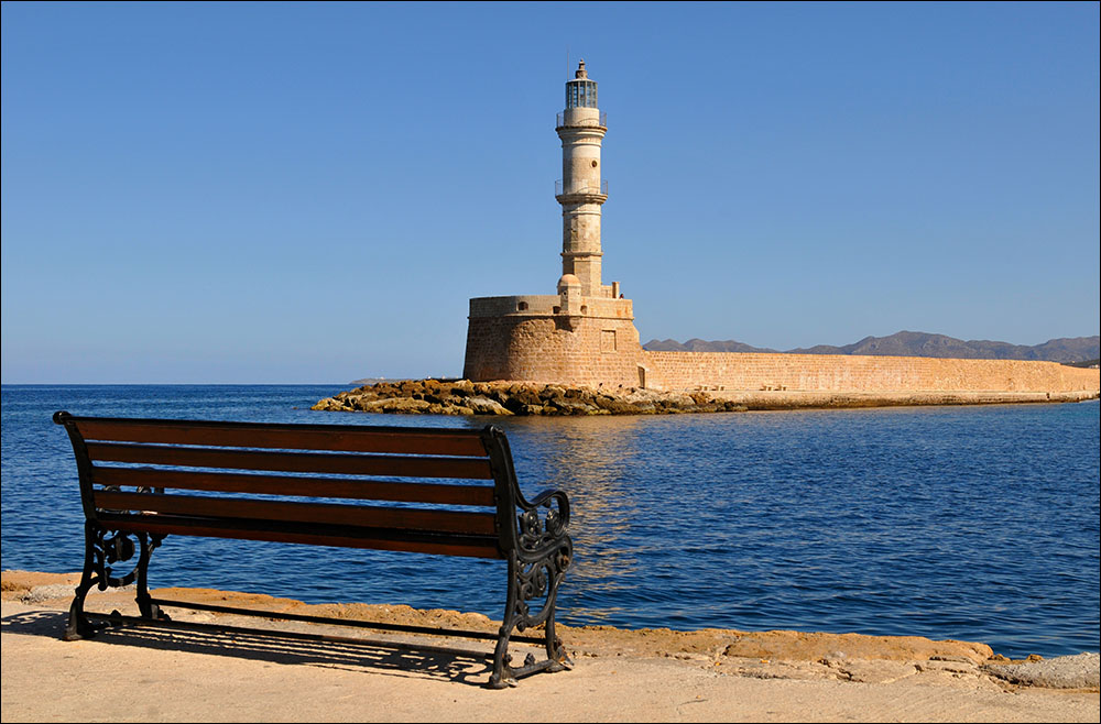 The picture-perfect Lighthouse at Chania old port (Picture Thomas Munter/Flickr)