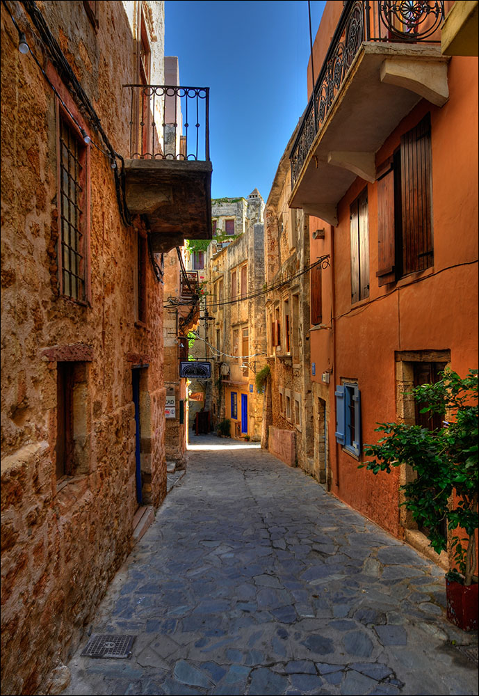 Beautiful streets of Chania old town (Picture by Thomas Munter/Flickr)