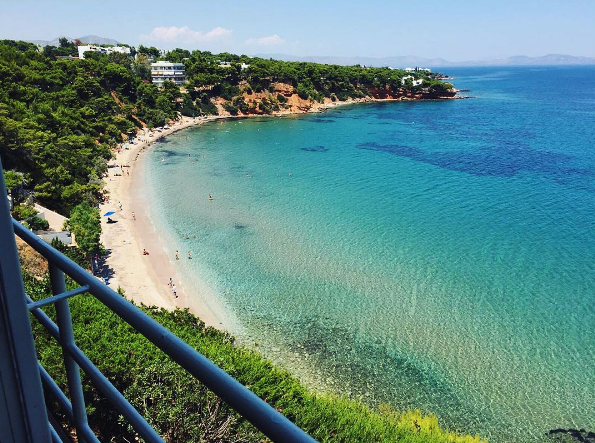 Beautiful clean waters in Rafina (Picture by nefeli_s/Instagram)