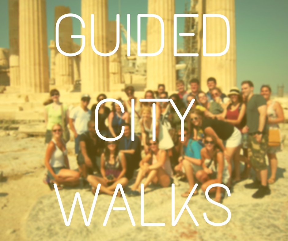guided city walks in athens