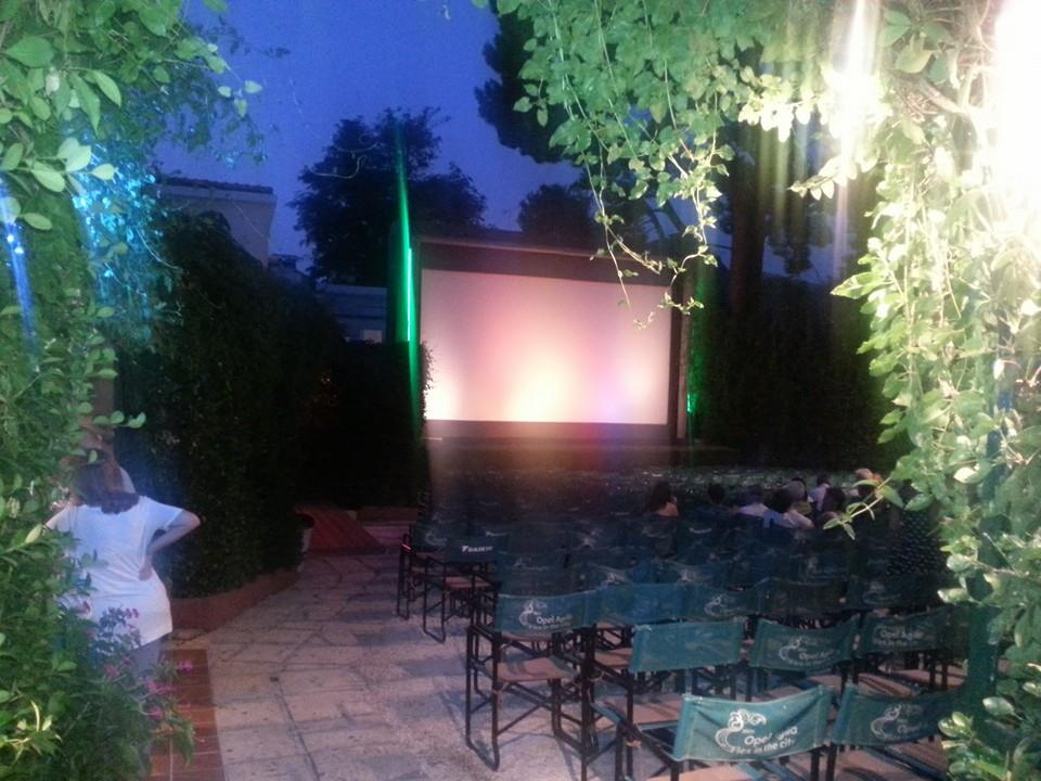 Cine Chloe in the heart of Kifissia, on the northern suburbs of Athens (Picture by John Kirki /Facebook)